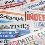 Nigerian Newspapers: 10 things you need to know today 27/02/2021
